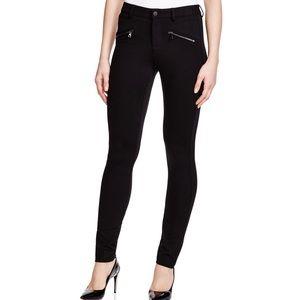 NYDJ Black Legging Zip Pocket Size 00P 088
